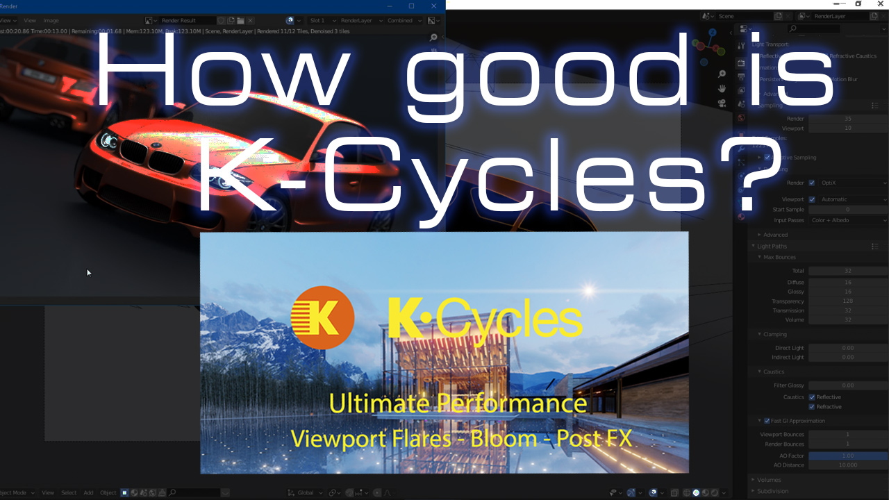Is K-Cycles addon better than Cycles 2.93, Cycles X and E-Cycles Lite?